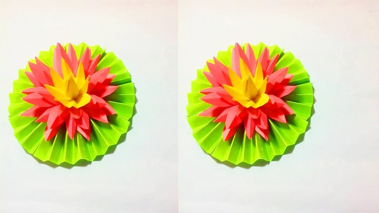 Easy Paper Flower Crafts Vatozozdevelopment