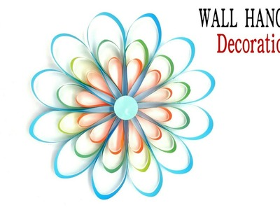 Easy Snowflakes | Wall hanging Decoration  for Christmas- DIY Tutorial - 851