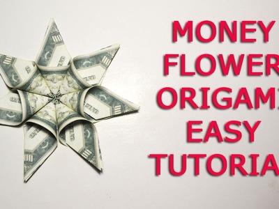 Easy Tutorial Money Flower Dollar Origami DIY