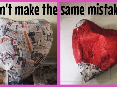 FAIL Giant Heart Balloon Pinata T.T