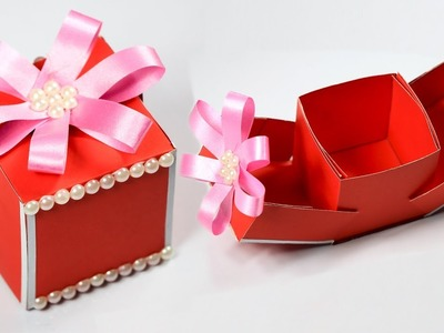 Gift Box   How to make a gift box   DIY Paper Crafts Idea   Christmas gift ideas