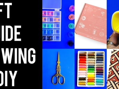 GIFT GUIDE FOR SEWING & DIY | 23 GIFT IDEAS + BIG SURPRISE!!