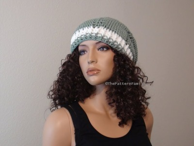 How to Crochet a Hat Pattern #178│by ThePatternfamily