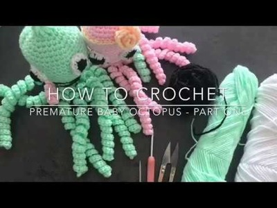 How to crochet octopus part one