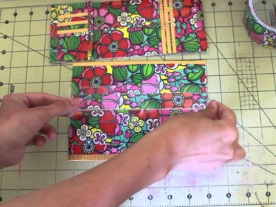 How to make a duct tape tri-fold bi-fold wallet! (tri-bi fold wallet!)