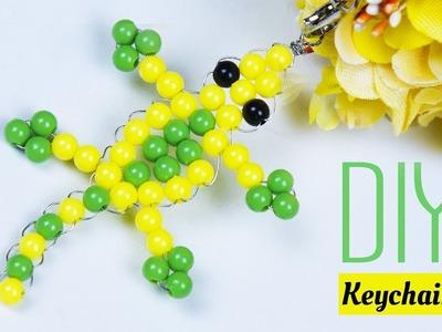 How to make a Lizard key chain | DIY crafts | Handmade gift ideas | Beads art