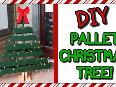 How To Make A Pallet Christmas Tree | I Am Kristin????