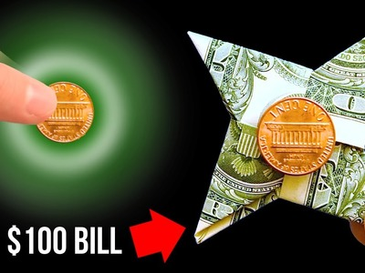 How To Make A Paper Fidget Spinner WITHOUT BEARINGS - $100 BILL!