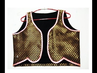 How to Make Beautiful & latest full size jacket cutting and stitching - jacket for Kurti, Suit,
