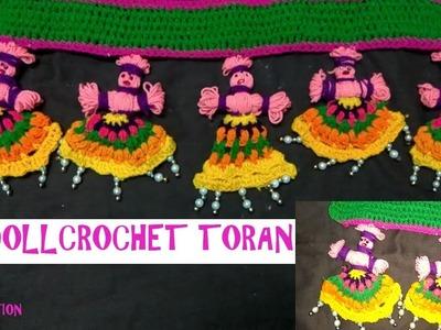How to make crochet toran.diy doll crochet toran