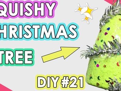 How to Make Squishy Christmas Tree | DIY Homemade Squishy Tutorial #21
