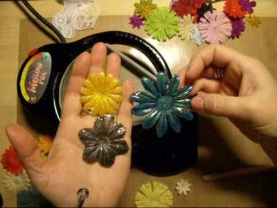 How to make Utee -flowers in meltingpot part 2