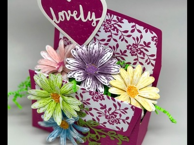 How to shape Stampin' Up! Delightful Daisy!