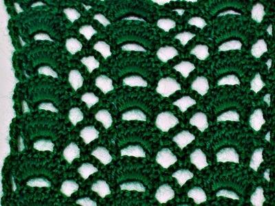 سلسلة غرز كروشي 4   point crochet