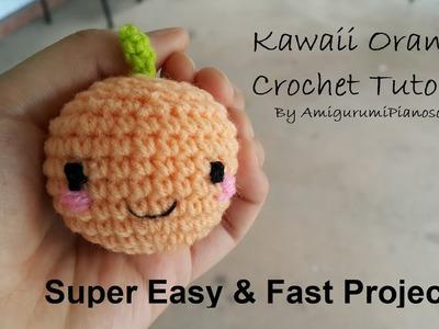 Kawaii Orange Crochet Tutorial
