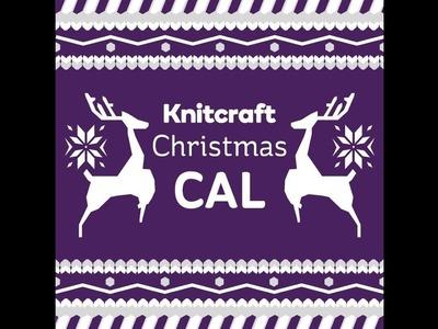 Knitcraft Christmas is crochet along part three rows 1-3