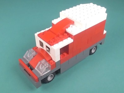 Lego Truck (014) Building Instructions - LEGO Classic How To Build - DIY
