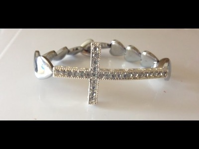 Make an easy stretch bracelet for a gift