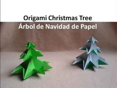#Origami Christmas Tree - Arbol de Navidad de Papel DIY Tutorial