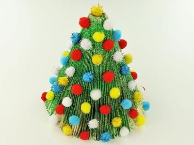 Paper Christmas Tree - Book Folding - Fast & Easy Tutorial - DIY