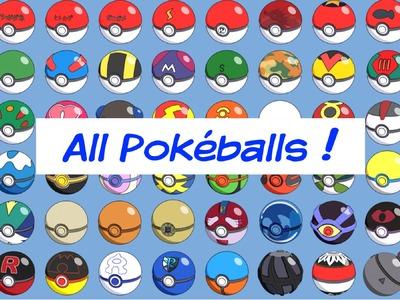 Pokémon: All Pokéballs