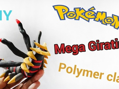 Pokemon Mega Giratina–Polymer Clay Tutorial – DIY (Pokemon Legend)