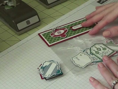 Project Share - Stampin Up! - Christmas Gift Tags