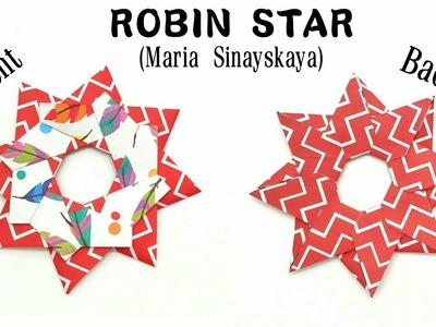 Robin Star by Maria Sinayskaya - Variation 2 - DIY origami Tutorial - 852
