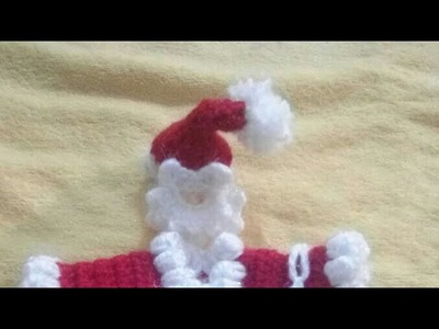 Santa cap crochet santa christmas dress (3--4 no.) part 4