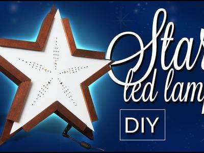STAR - Christmas  led lamp decoration - Step by step DIY