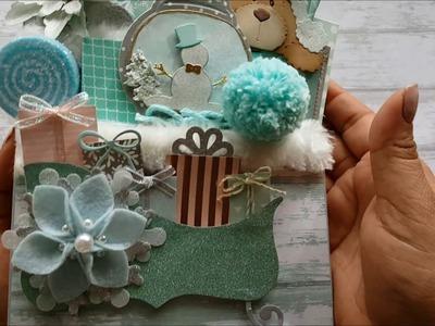 TBT Winter Wonderland Loaded Envelope by Rosa Gomez