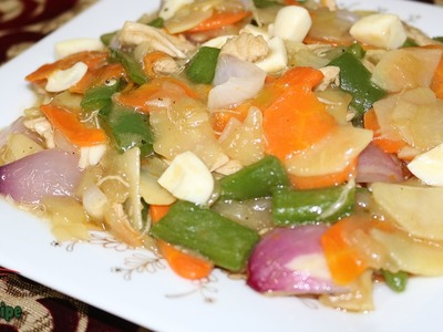 ৪টি সবজি দিয়ে চাইনিজ ভেজিটেবল তৈরি   Bangladeshi Style Chinese Vegetables Recipe   Vegetables