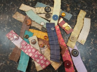 Using Paper Ribbons in Your Junk Journals. 20 pc set Listed on Etsy