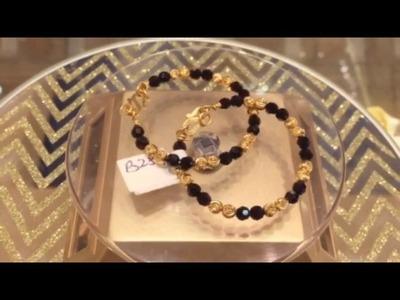 22k Elegant Baby Bracelet b284 www.forever22karat.com