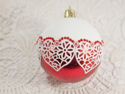 #57 DIY of Christmas balls ornaments - design and decoration ideas