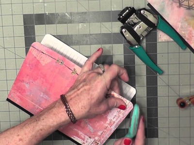Altered Composition Book Planner Tutorial Video 2