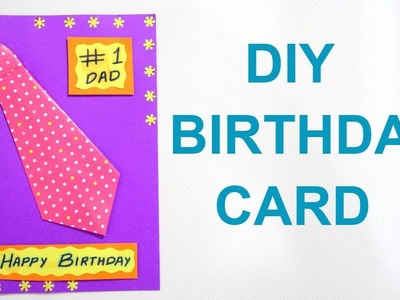 BIRTHDAY CARD FOR FATHER | DIY BIRTHDAY CARD | FATHERS DAY CARD | DIY CARD FOR FATHER. DAD birthday