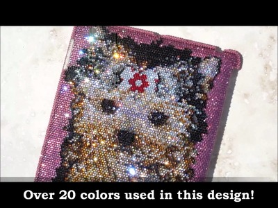 Bling-Bling! :) ICY Couture Crystal iPad Covers - Yorkie!