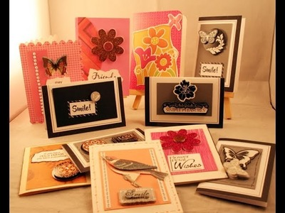 Cards using your scraps wk 5