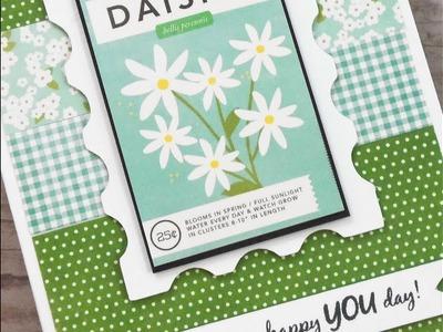 "CARDZ TV "". HAPPY YOU DAY!"" BIRTHDAY CARD ~ KIT & KABOODLE SKETCH #23"
