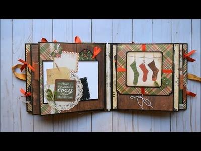 Christmas Mini Album! | DCWV - Christmas Memories