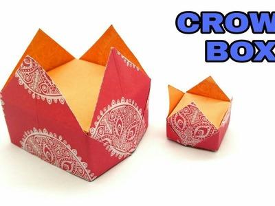 Crown Gift Box - Origami DIY Tutorial - 854