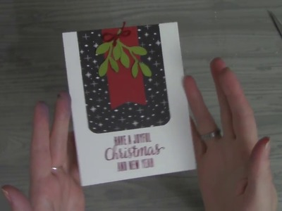 Day 11 Easy DIY Merry Christmas Happy New Year Holiday Card
