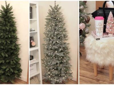 Decorating For Christmas - DIY Snowy Christmas Tree + Christmas Decor