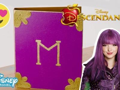 Descendants 2 | Craft Tutorial: Mal's Spell Book | Official Disney Channel UK