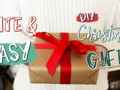 DIY Christmas Gift Ideas + HOLIDAY GIVEAWAY - Ellie June