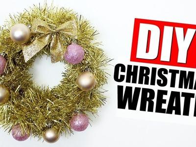 DIY CHRISTMAS WREATH DECOR | 25 DIYs Of Christmas Day 7