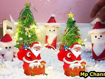 DIY easy making SANTA CLAUS |Christmas handmade making| MP channel