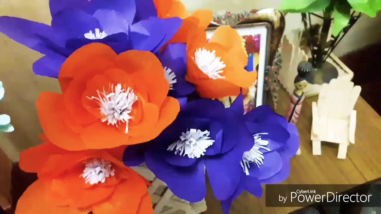 Diy Paper Flowers Easy Art And Craft