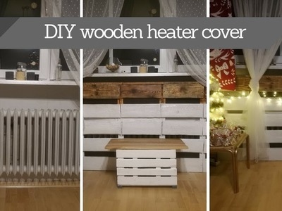 DIY wooden heater cover | wooden craft #1